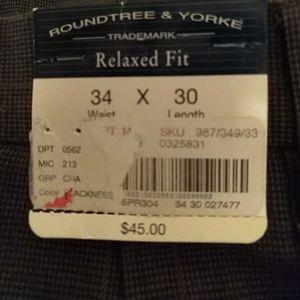 Roundtree & Yorke Pants - Dress pants roundtree and yorke